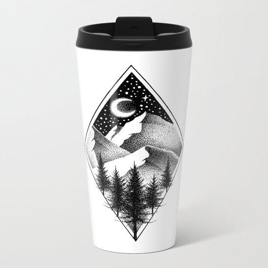 NORTHERN MOUNTAINS III Metal Travel Mug