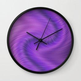 Purple daze 18 Wall Clock