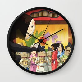 LoK/Spirited Away Wall Clock