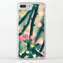 Early Spring Affaire Clear iPhone Case