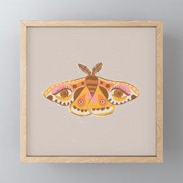 Moth Eyes Framed Mini Art Print