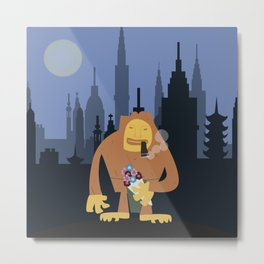 Nagmamahal, Kapre (Philippine Mythological Creatures Series) Metal Print
