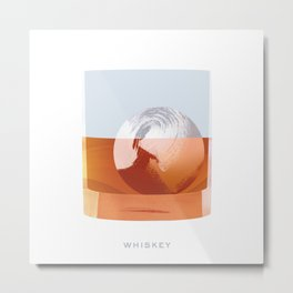 Cocktail Hour: Whiskey Metal Print
