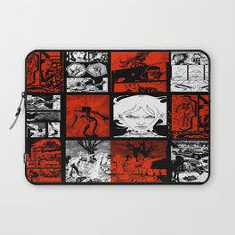 RED & WHITE - A nne Frankenstein Book I - Resurrection Laptop Sleeve