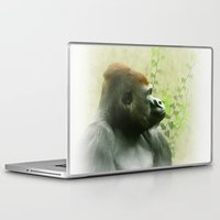 ape Laptop & iPad Skins featuring Ape by Shalisa Photography