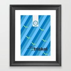 triskel single hop Framed Art Print