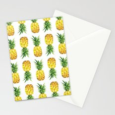 Pineapple Abstract Triangular  Stationery Cards