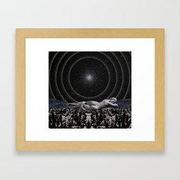 Divine Slumber Framed Art Print