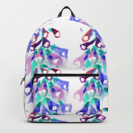 Purple dropping bells Backpack