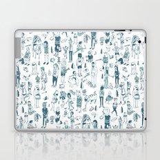 Crowd Pattern Laptop & iPad Skin