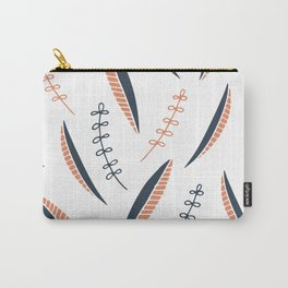 fine leaves pattern Carry-All Pouch