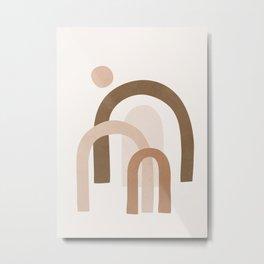 Minimal Shapes No.53 Metal Print