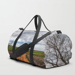 Take Me Home - Old Country Road in Oklahoma Duffle Bag