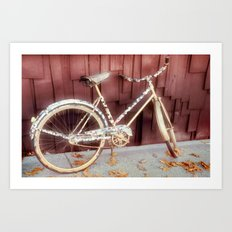 virtual bicycle Art Print