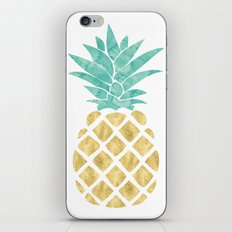 Gold Pineapple iPhone & iPod Skin