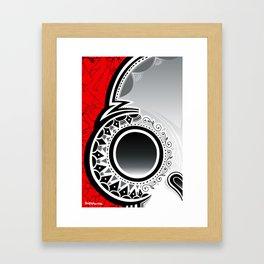 Blur Skull Banger 4 - Classic Framed Art Print