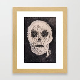 Lady death Framed Art Print