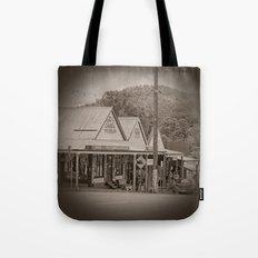 Vintage Town View Tote Bag