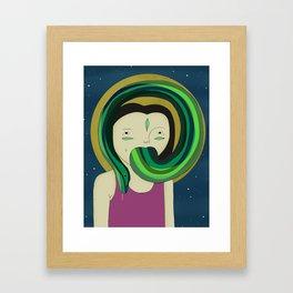 Self Portrait V Framed Art Print