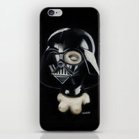 boob iPhone & iPod Skins featuring Boob Vader by Nataliette