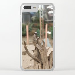 Sentry Meercat Clear iPhone Case
