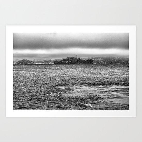 Prison of Alcatraz in san Francisco Art Print