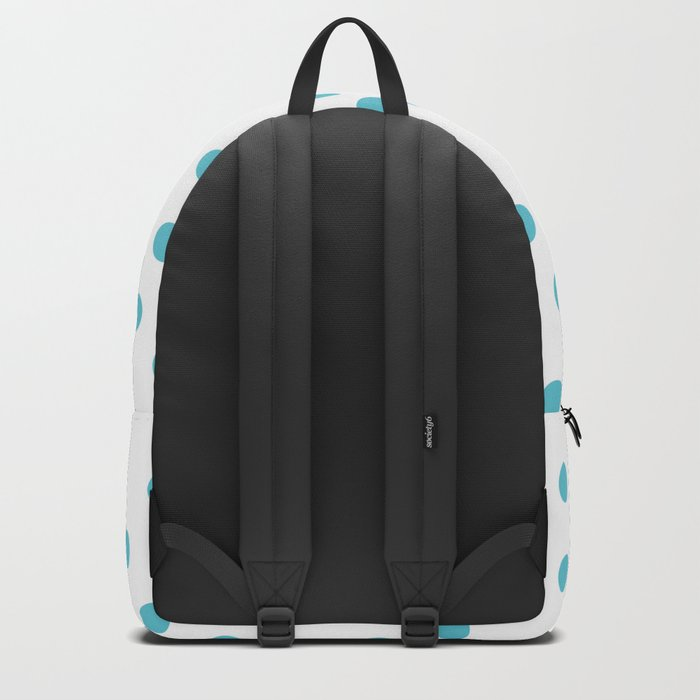 Simply Dots in Seaside Blue Backpack