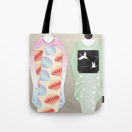 Geisha Maiko Summer Tote Bag