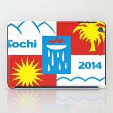 Sochi 2014 flag - Authentic version iPad Case