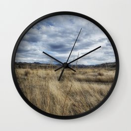 A Bit of Central Oregon Wall Clock