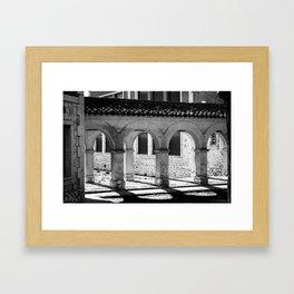 Colegiata Framed Art Print