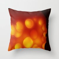 cheese Throw Pillows featuring Cheese by Andrii Turtsevych