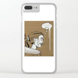 Thoughtless Clear iPhone Case