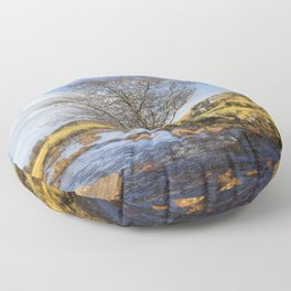 Riverside Tree Floor Pillow