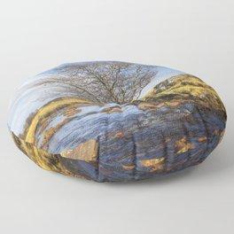 Riverside Tree Floor Pillow