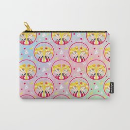Usagi Tsukino VS Sailor Moon pattern Carry-All Pouch