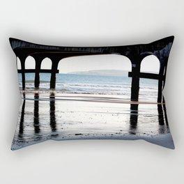 Tranquil Pier Rectangular Pillow