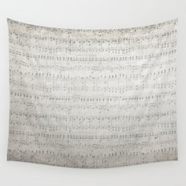 """MUSIC by collection """"Music"""" Wall Tapestry"""