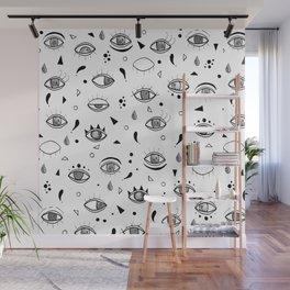 Eyes eyes baby Wall Mural