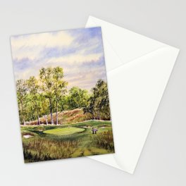 Merion Golf Course 17th Hole Stationery Cards