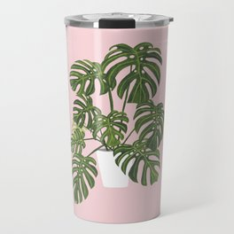Monty the Monstera Travel Mug