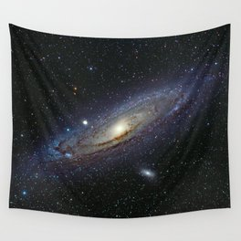 The Andromeda Galaxy Wall Tapestry
