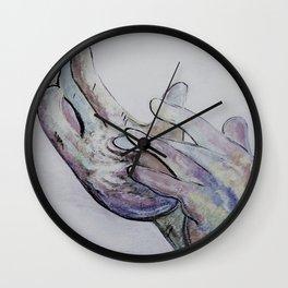 ASL Jesus Denim Coloring Wall Clock