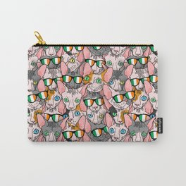 St. Paddy's Day Sphynx Carry-All Pouch