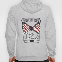 Tied to the USA Fourth of July T-shirt Hoody