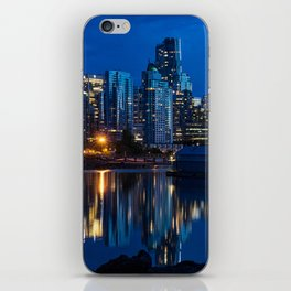 Vancouver at Night iPhone Skin