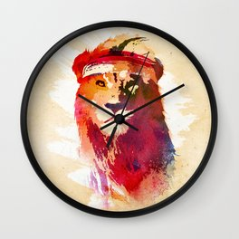 Gym Lion Wall Clock
