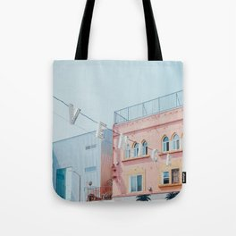 Venice Beach Sign in Los Angeles Tote Bag