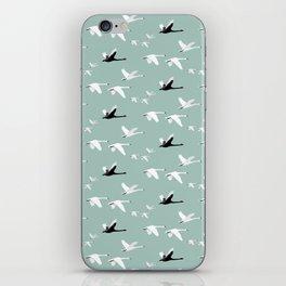 Swans iPhone Skin