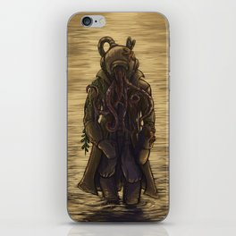 The Octopus Man Rises iPhone Skin
